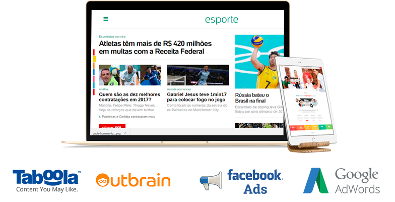 6três - Web Design & Marketing Digital - Links e posts patrocinados, Native Ads e Inbound Marketing